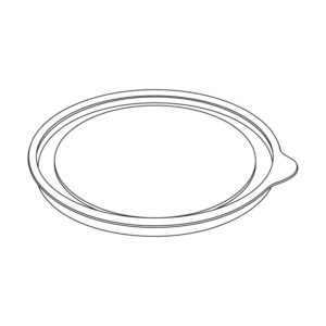 Poklopac BOPS/PET d=99mm h=6mm (1100 kom/pak)