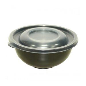Posuda za supu PP 450 ml d=150 mm h=63 mm crna (480 kom/pak)