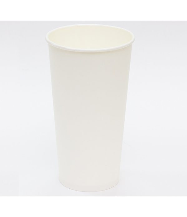 Čaša 500 ml papirnata, d=90 mm, bela za topla pića (50 kom/pak)