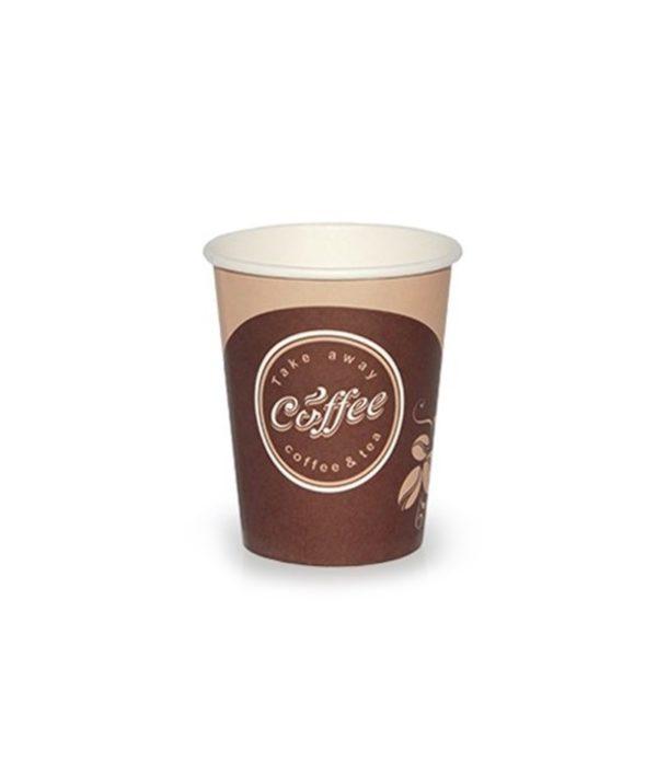 Papirna čaša 1-sl 250 ml d=80 mm Coffee take away (50 kom/pak)