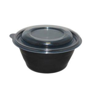 Posuda za supu PP PR-МС 350ml, crna (90 kom/pak)