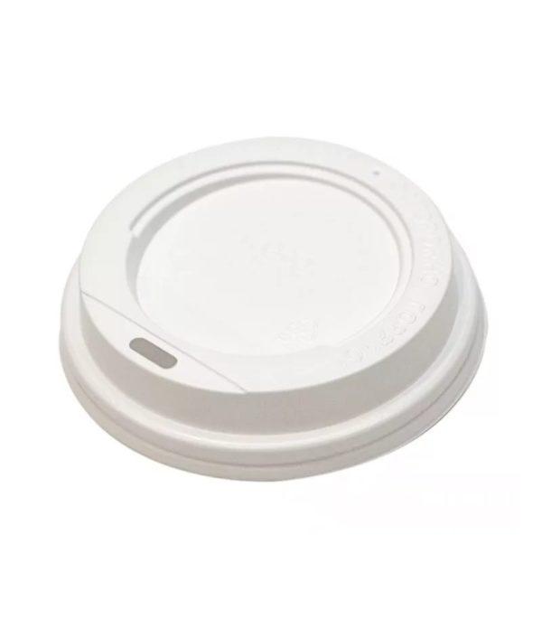 Poklopac PS sa bočnim otvorom d=62mm bijeli (100 kom/pak)