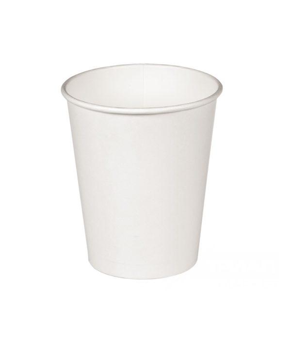 Čaša papirnata jednoslojna 300 ml d=90mm za topla pića (50 kom/pak)