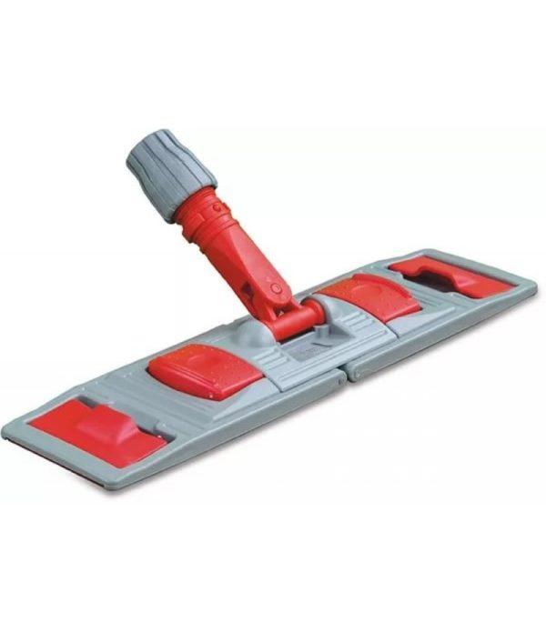 Držač za brisač poda za mokro brisanje 40х11cm plastika, džepovi / krilo (NPK195)