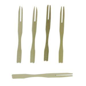 Bockalica od bambusa VILICA 9 cm (100 kom/pak)