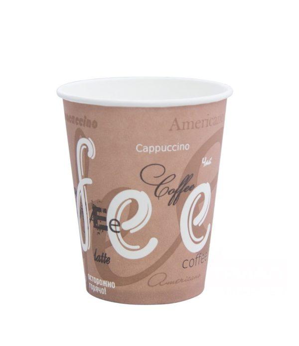 Čaša 250 ml papirnata d=80mm Coffee za topla pića (50 kom/pak)