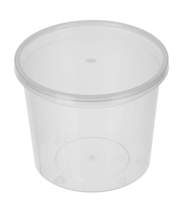 Posuda za konzerve zimnicu РР 500ml d=112mm h=77 mm (50 kom/pak)