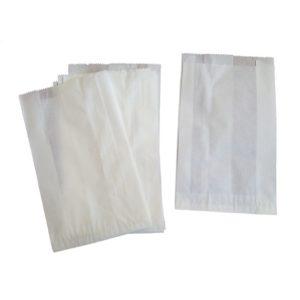 Papirna kesa 140х60х370mm bijela (3000 kom/pak)