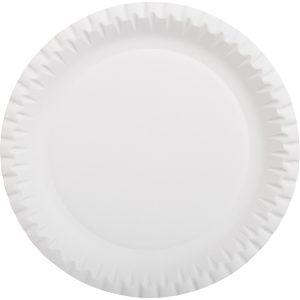 Tanjir d=230mm beli valoviti, glaziran (100 kom/pak)