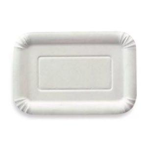 Krožnik bel 140x210 iz laminirane lepenke (2500 kos/pak)
