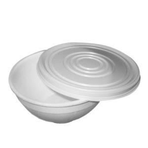 Posuda za supu sa poklopcem EPS 410 ml, 576 kom (komplet)