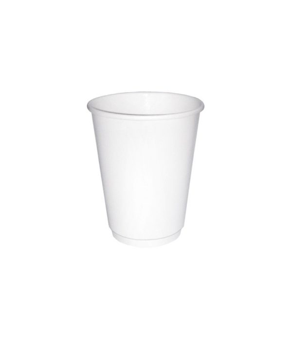 Papirna čaša 2 sl 300 ml d=90 mm bijela (20 kom/pak)