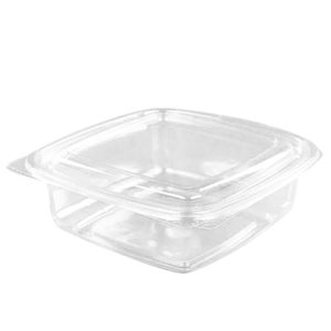 Posuda sa poklopcem 172x167x70mm 1000ml, transparentna PET (300 kom/pak)