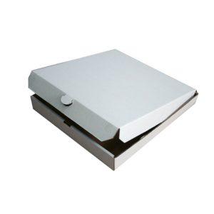 Kutija za picu 410x410x40 mm, mikroval karton (50 kom/pak)