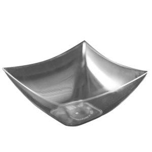 Posuda Kvadrat 70x70mm, 90 ml, providna, PS (500 kom/pak)