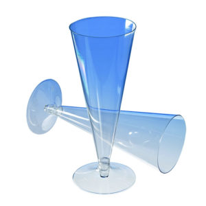 Čaša za šampanjac PS 150 ml, providna (390 kom/pak)