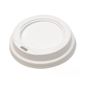 Poklopac PS sa bočnim otvorom d=70 mm beli