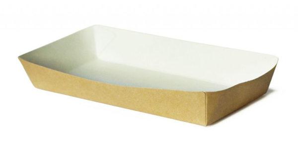 Kartonska kutija za brzu hranu Ekoline 180х80х30 mm kraft (220 kom/pak)