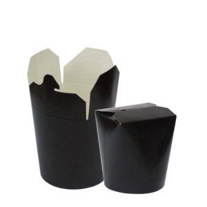 Kartonska kutija za WOK 500 ml 103х84х975 mm crna (480 kom/pak)