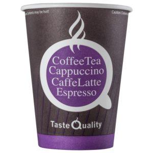 Papirnat kozarec 300 (430) ml za tople napitke, d=90 m Coffee TQ