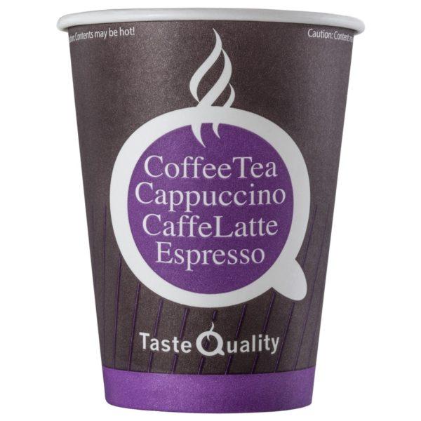 Čaša papirnata jednoslojna 300 (430) ml d=90mm za tople napitke kafa TQ (50 kom/pak)