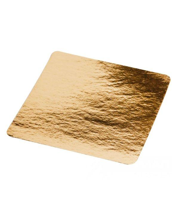 Podmetač od kartona 210×210 mm zlato (50 kom/pak)