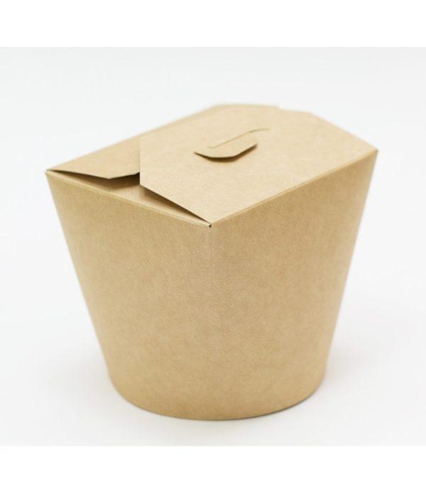 Kartonska kutija za WOK 700 ml 138x94x984 mm kraft (50 kom/pak)