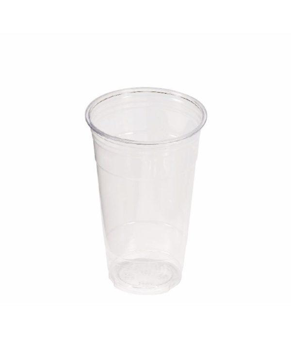 Čaša Tambien providna 500 ml, d=98 mm PET (50 kom/pak)