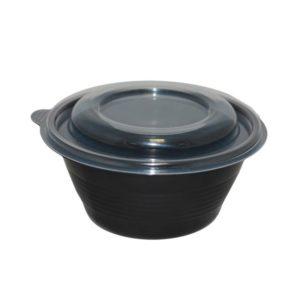 Posuda za supu sa poklopcem PP 500 ml, 540 kom (komplet)