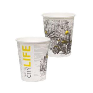 Čaša papirnata Big City Life 250 ml, d=80 mm (50 kom/pak)