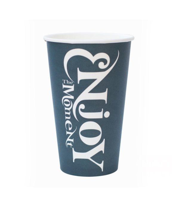 Papirna čaša 1-sl 400 ml d=90 mm Enjoy the Moment (50 kom/pak)