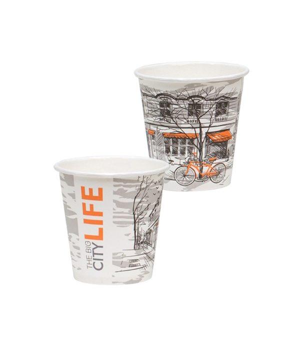 Papirna čaša 1-sl 195 ml d=73 mm Big City Life (80 kom/pak)