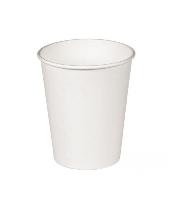 Papirna čaša 1-sl 300 ml d=90 mm bijela (37 kom/pak)