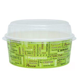 Kartonska posuda za salate 750 ml d=150 mm Fiesta (50 kom/pak)