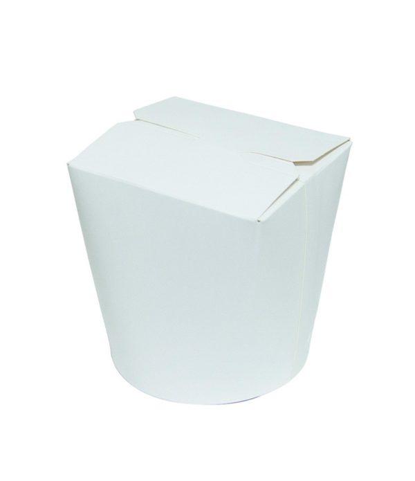 Kartonska kutija za WOK 500 ml 103x84x975 mm bijela (30 kom/pak)