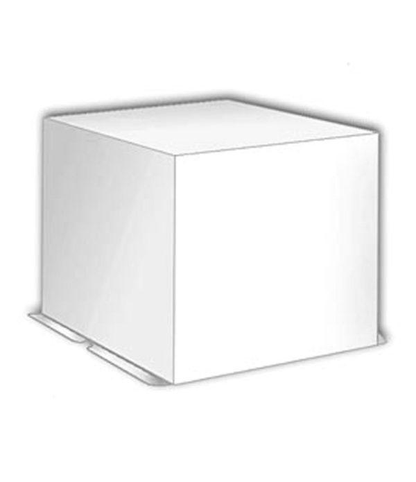 Kutija za tortu karton 300 x 300 x 250 mm bijela, 20 kom (komplet)