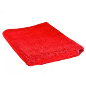 Krpa od mikrovlakana univerzalna 35×35 cm crvena