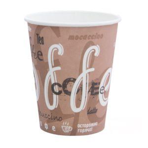 Čaša papirnata jednoslojnaCoffee 300 ml, d=90 mm (50 kom/pak)