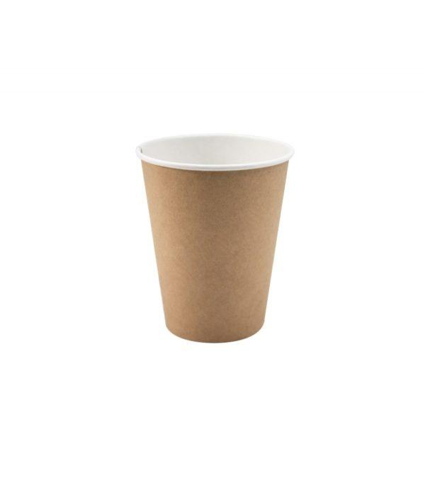 Papirna čaša 1-sl 350 ml d=90 mm kraft (50 kom/pak)