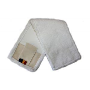 Krpa za tla 50x14cm, mikrovlakna, za vpet/na žepke