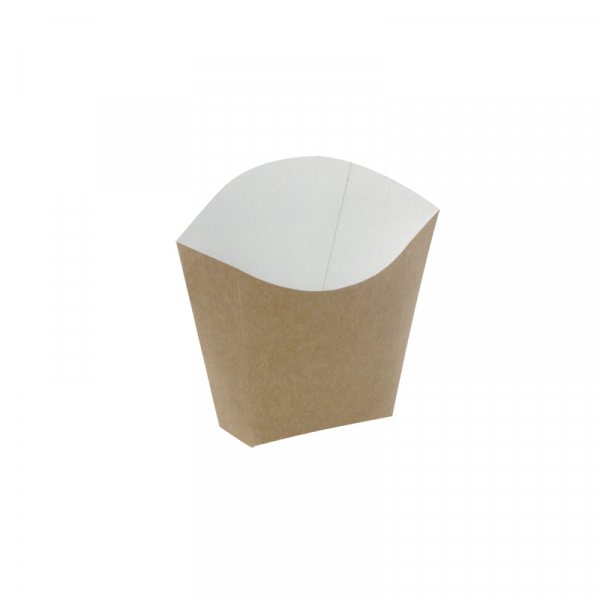 Kutija za pomfrit 81/70 x 49/43 x 71/107 mm kraft (1000 kom/pak)