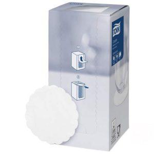 Podmetač od papira ispod čaše d= 9cm 250kom/pak TORK Advanced bela (474474)