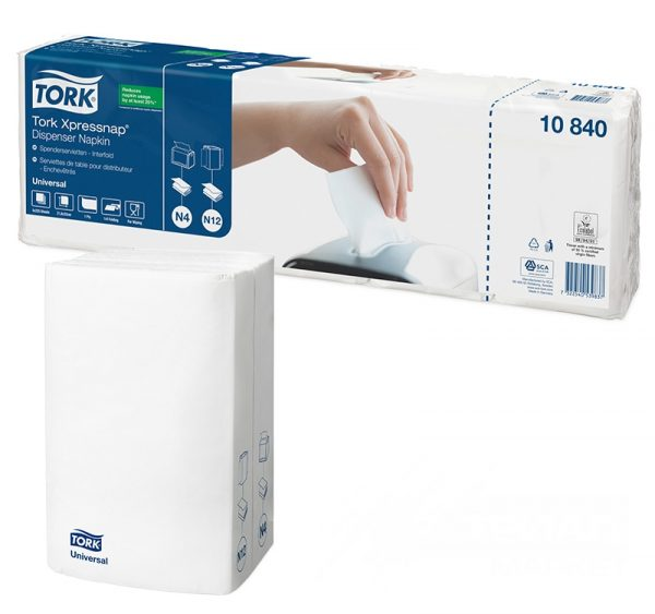 Papirnate salvete TORK Universal N4 1-slojne 225 l/pak bele (10840) (5 kom/pak)