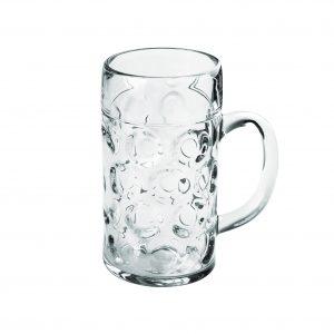Čaša za pivo velika providna SAN 1000 ml