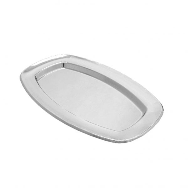 Tacna oval PET Gold Plast 330×240 srebrna (5 kom/pak)