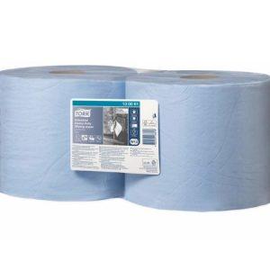 Papir za brisanje Tork W1/W2 ultra izdržljiv plavi, rolna(130081)
