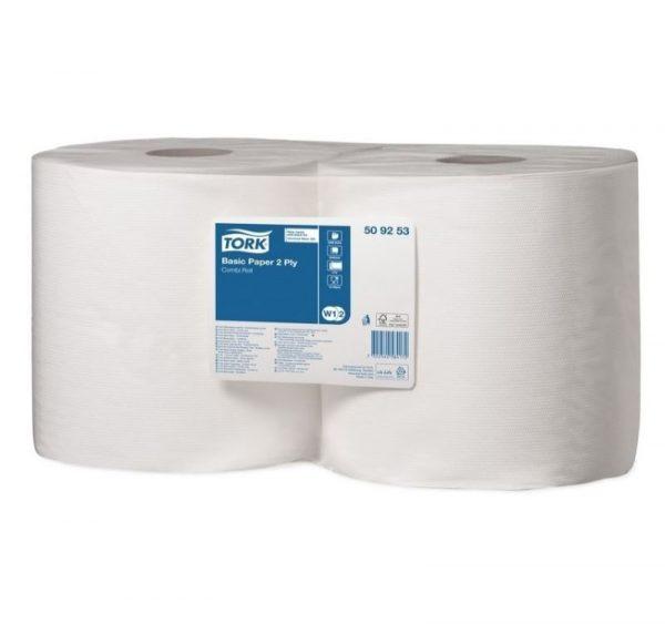 Papir za brisanje Tork W1/W2 osnovni (509253)