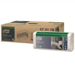 Materijal za brisanje Tork W4 bijeli za kuhinju salvete (473178)
