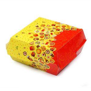 Kutija za hamburger Rog izobilja 120х120х70mm (300 kom/pak)