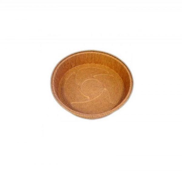 Kartonska posuda Pie d=180 mm h=30 mm braon